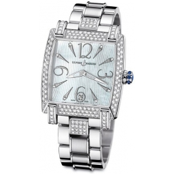 Ulysse Nardin Caprice Diamond Bracelet Womens Watch 133-91AC-7C/693