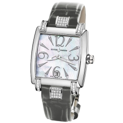 Ulysse Nardin Caprice Womens Diamond Watch 133-91C/691-GREY
