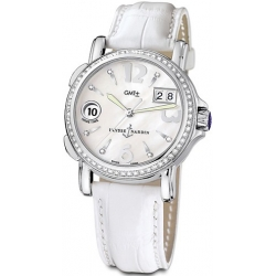 Ulysse Nardin GMT Big Date Diamond Womens Watch 223-28B/691