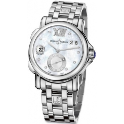 Ulysse Nardin GMT Big Date Womens Bracelet Watch 243-22-7/391