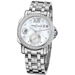 Ulysse Nardin GMT Big Date Womens Diamond Watch 243-22B-7/391