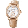 Ulysse Nardin GMT Big Date Rose Gold Diamond Watch 246-22B/391