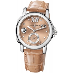Ulysse Nardin GMT Big Date Brown Dial Womens Watch 243-22/30-09
