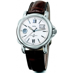 Ulysse Nardin GMT Big Date Mens White Dial Watch 223-88