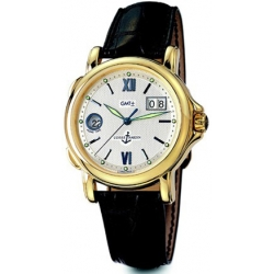 Ulysse Nardin GMT Big Date Yellow Gold Mens Watch 221-88