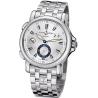 Ulysse Nardin GMT Big Date Mens Steel Bracelet Watch 243-55-7/91