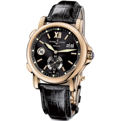 Ulysse Nardin GMT Big Date Rose Gold Mens Watch 246-55/32
