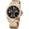 Ulysse Nardin GMT Big Date Rose Gold Mens Watch 246-55-8/32