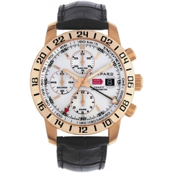 Chopard Mille Miglia GMT Mens Rose Gold Watch 161267-5001
