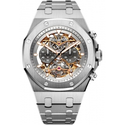26347TI.OO.1205TI.01 Audemars Piguet Royal Oak Tourbillon Chronograph Openworked Watch