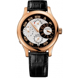 Chopard L.U.C. Regluator Mens Rose Gold Watch 161874-5001
