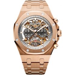 26347OR.OO.1205OR.01 Audemars Piguet Royal Oak Tourbillon Chronograph Openworked Watch