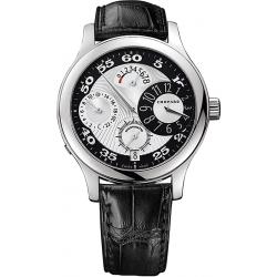 Chopard L.U.C. Regluator Mens White Gold Watch 161874-1001