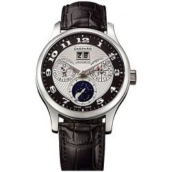 Chopard L.U.C. Lunar One Mens Platinum Watch 161894-9001