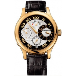 Chopard L.U.C. Regluator 18K Yellow Gold Mens Watch 161874-0001