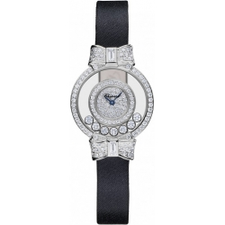 Chopard Happy Diamonds White Gold Womens Watch 205020-1001