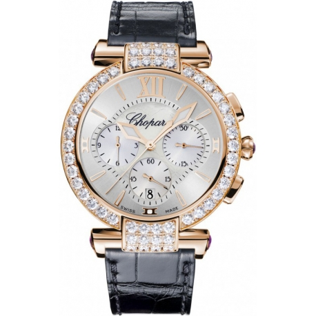 Chopard Imperiale Rose Gold Diamond Womens Watch 384211-5003
