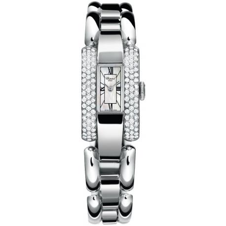 Chopard La Strada Womens White Gold Diamond Watch 416547-1001
