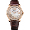 Chopard Happy Sport Round Rose Gold Womens Watch 277473-5002