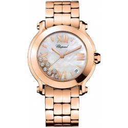 Chopard Happy Sport II Round Womens Watch 277472-5002