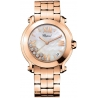 Chopard Happy Sport II Round Rose Gold Womens Watch 277472-5002