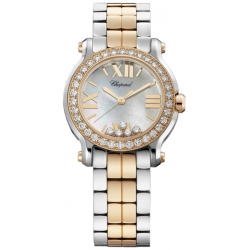 Chopard Happy Sport Round Womens Bracelet Watch 278509-6005