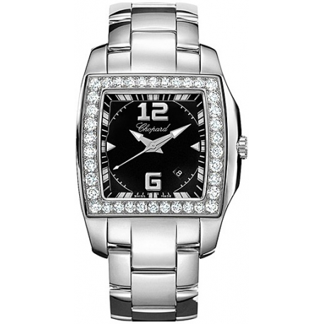 Chopard Two O Ten Womens White Gold Diamond Watch 108464-2001