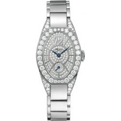 Chopard Classic Womens White Gold Diamond Watch 107228-1001