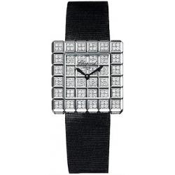 Chopard Ice Cube Womens Diamond White Gold Watch 136815-1002
