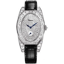 Chopard High Jewelry Classic Oval Womens Watch 137142-1001