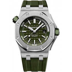15710ST.OO.A052CA.01 Audemars Piguet Royal Oak Offshore Diver Charismatic Khaki Watch
