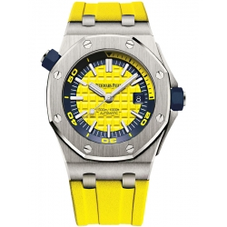 15710ST.OO.A051CA.01 Audemars Piguet Royal Oak Offshore Diver Yellow Watch