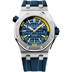 15710ST.OO.A027CA.01 Audemars Piguet Royal Oak Offshore Diver Blue Watch