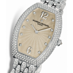 Vacheron Constantin Egerie Gold Diamond Womens Watch 25541/345G-9109
