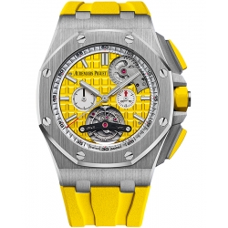 26540ST.OO.A051CA.01 Audemars Piguet Royal Oak Offshore Tourbillon Chronograph Yellow Watch