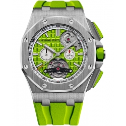 26540ST.OO.A038CA.01 Audemars Piguet Royal Oak Offshore Tourbillon Chronograph Green Watch