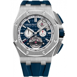 26540ST.OO.A027CA.01 Audemars Piguet Royal Oak Offshore Tourbillon Chronograph Blue Watch