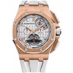 26540OR.OO.A010CA.01 Audemars Piguet Royal Oak Offshore Tourbillon Chronograph Pink Gold Watch