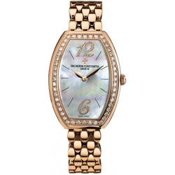Vacheron Constantin Egerie Rose Gold Diamond Womens Watch 25540/344R-9262