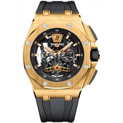 26407BA.OO.A002CA.01 Audemars Piguet Royal Oak Offshore Tourbillon Chronograph Yellow Gold Watch
