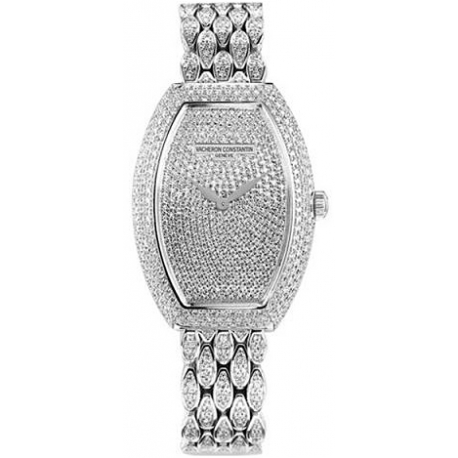 Vacheron Constantin Egerie Diamond Bracelet Watch 25541/345G-9053