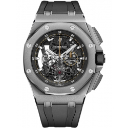 26407TI.GG.A002CA.01 Audemars Piguet Royal Oak Offshore Tourbillon Chronograph Titanium Watch