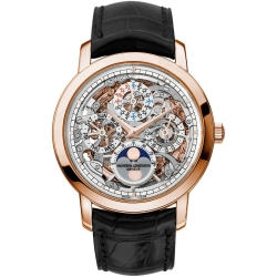Vacheron Constantin Patrimony Skeleton Rose Gold Watch 43172/000R-9241