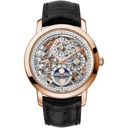 Vacheron Constantin Patrimony Skeleton Rose Gold Watch 43172/000R-9241