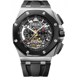26348IO.OO.A002CA.01 Audemars Piguet Royal Oak Offshore Tourbillon Chronograph Openworked Watch