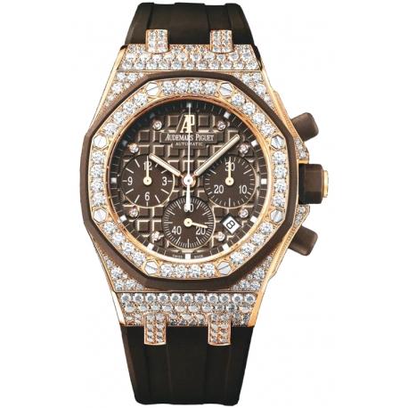 26092OK.ZZ.D080CA.01 Audemars Piguet Royal Oak Offshore Chronograph Diamond Watch