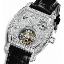 Vacheron Constantin Malte Diamond Tourbillon Watch 30670/000P-9155