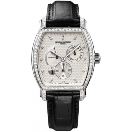 Vacheron Constantin Malte Tonneau Dual Time Watch 47700/000G-9416