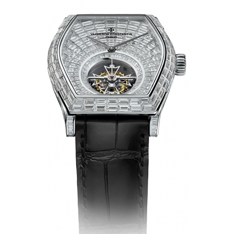 Vacheron Constantin Malte Diamond Tourbillon Watch 30682/000G-9477