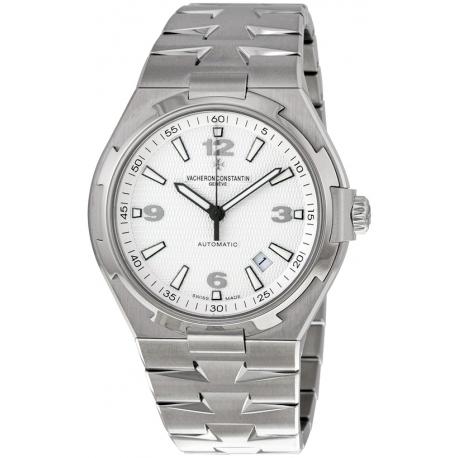 Vacheron Constantin Overseas Steel Bracelet Watch 47040/B01A-9093